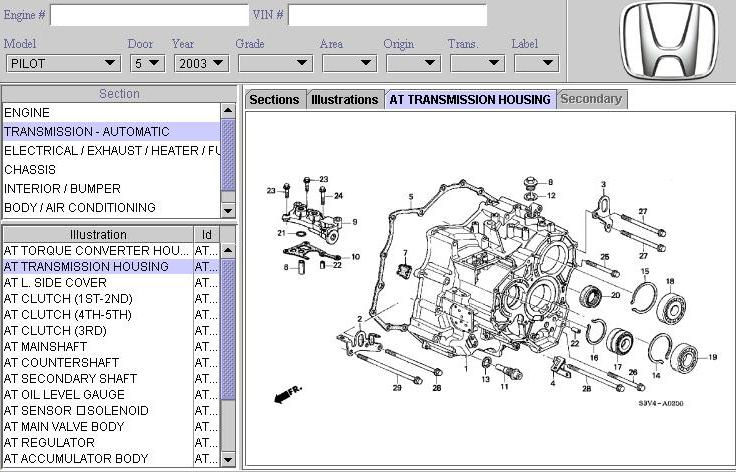 Even The Acura Tl Has Same Transmission As Pilotmdxody Rhpiloteersorg: 1999 Acura Tl Engine Diagram At Gmaili.net