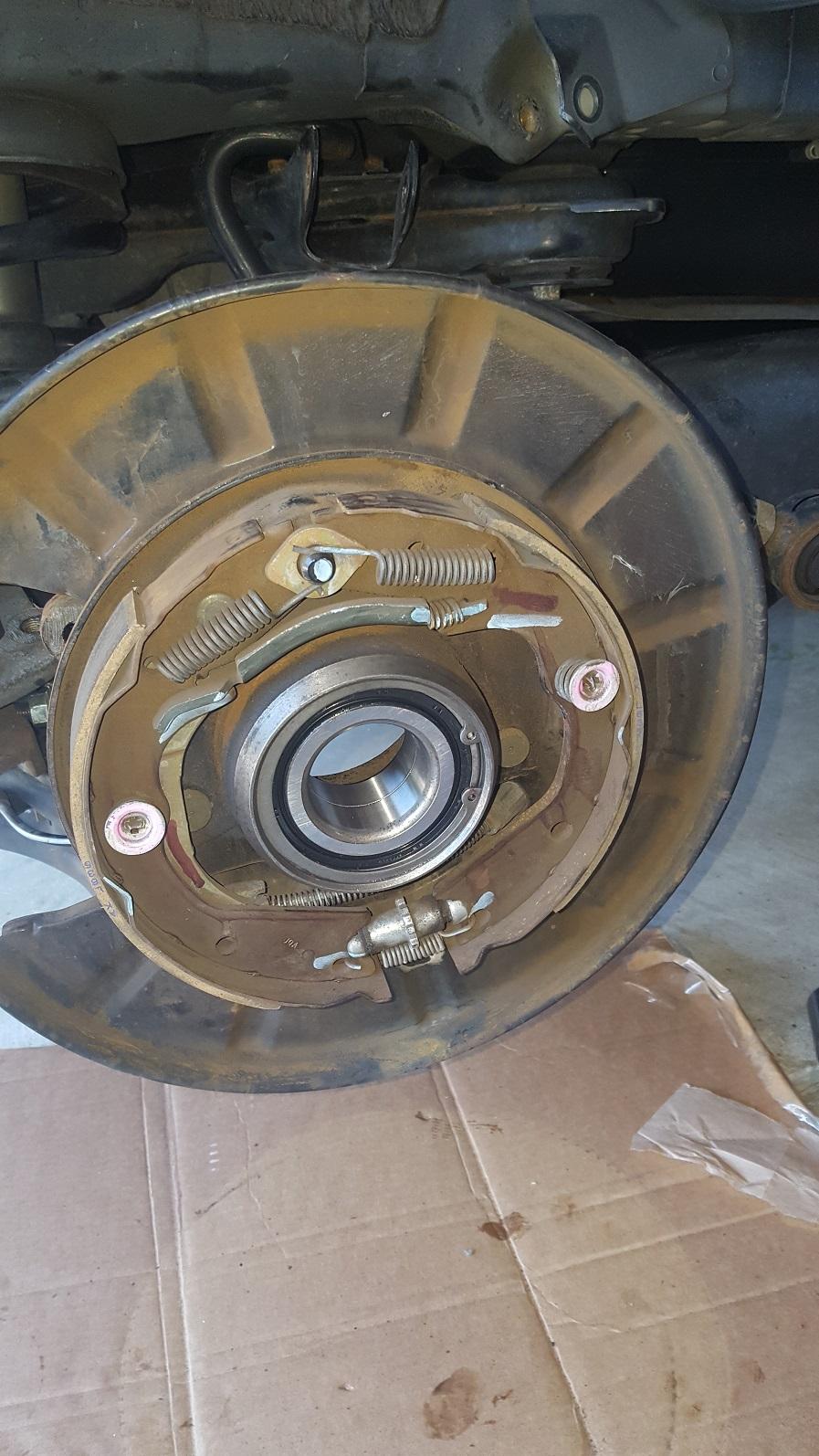 2012 Honda Pilot Replace Rear Wheel Bearing 2012 Honda
