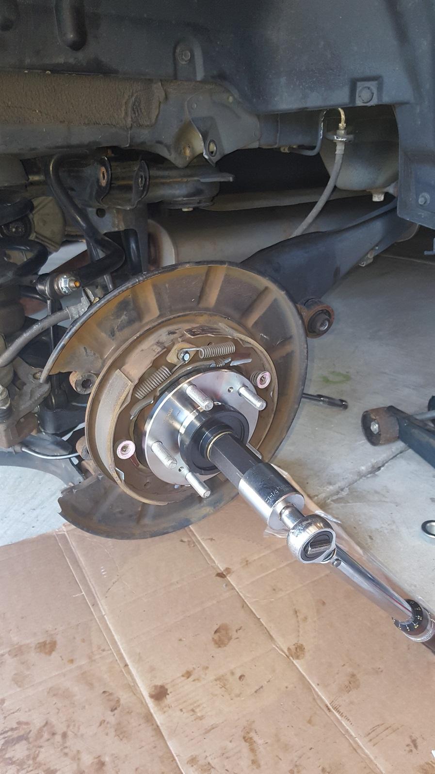 Service Manual 2012 Honda Pilot Replace Rear Wheel