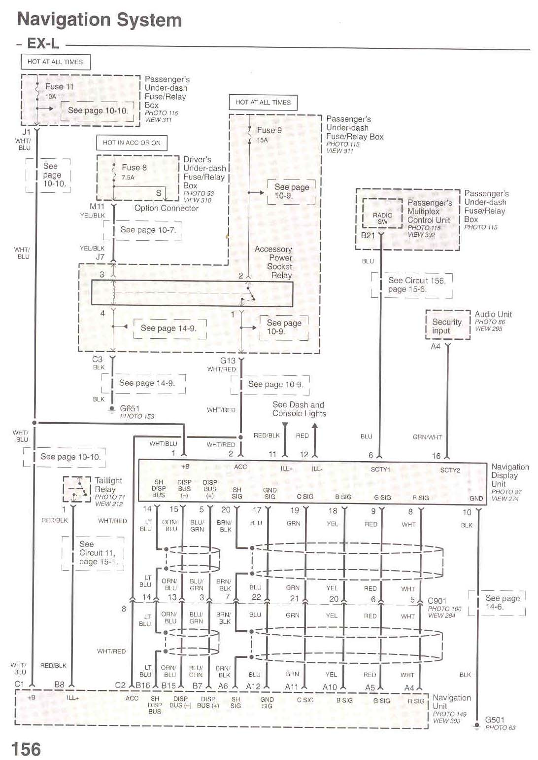 Honda 2005 Wiring Diagram Schematic Diagrams 1994 Elite 80 Pilot Ex L Radio In 2004 Rancher