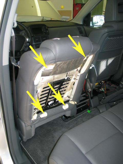 front seat - Honda Pilot - Honda Pilot Forums