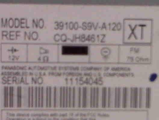 36505d1296013392 2005 pilot 14 pin cd changer connector aux ex ex l lx 2005 pilot radio badge 2005 pilot 14 pin cd changer connector, aux, ex, ex l, lx honda  at panicattacktreatment.co