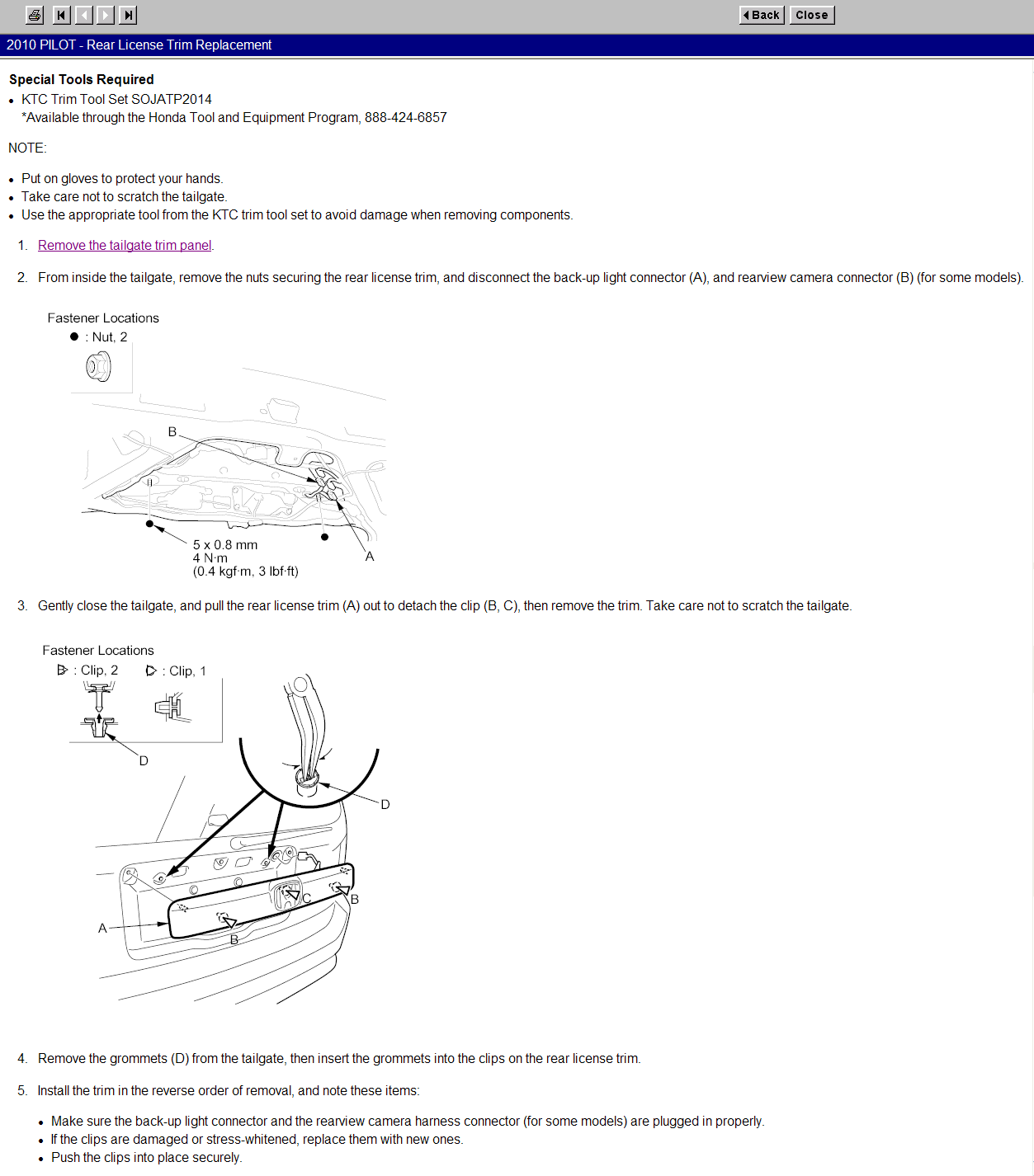Backup Camera Install Guide Honda Pilot Forums 2006 Electrical Troubleshooting Manual Original Click Image For Larger Version Name 2010 12 22 044419 21 8