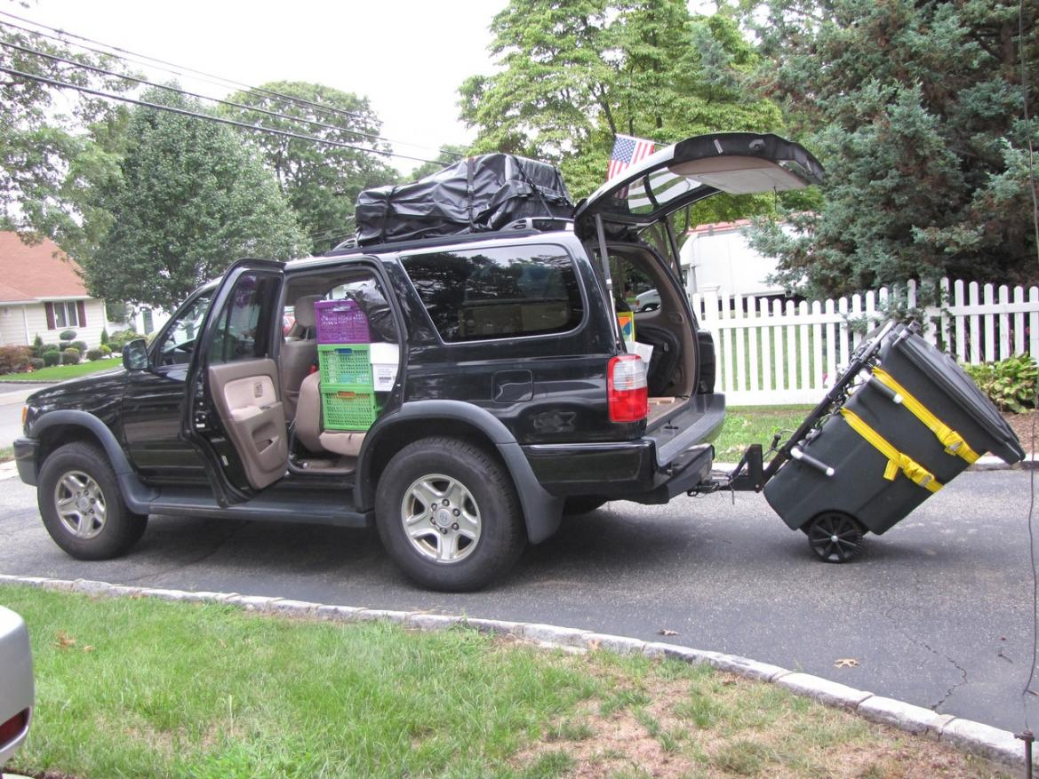 2016 Honda Element >> Cargo Capacity - Honda Pilot - Honda Pilot Forums