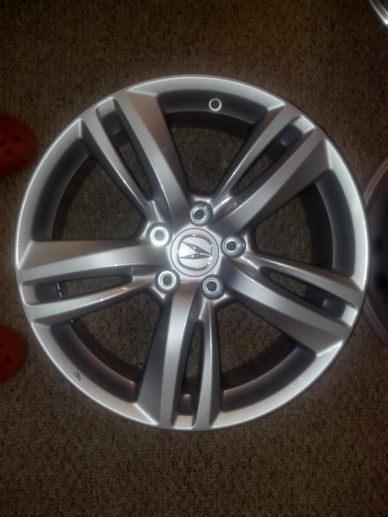 OEM RDX Wheels Acura TSX Forum - Acura oem wheels