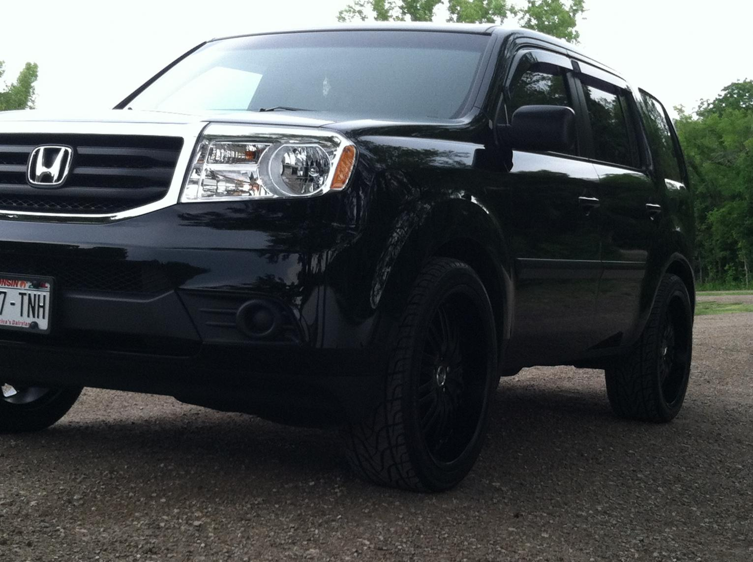 My 2012 Honda Pilot Black On Black Honda Pilot Honda