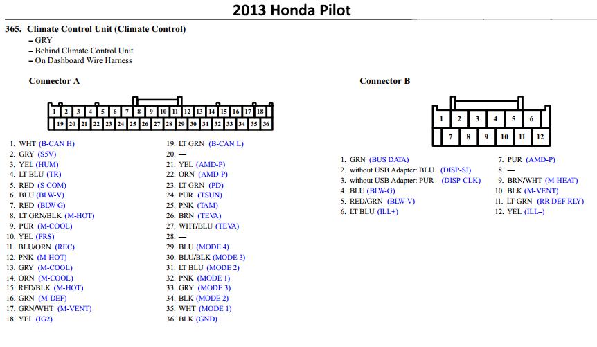 Audio, Display Screen and HVAC controls upgrade | Honda
