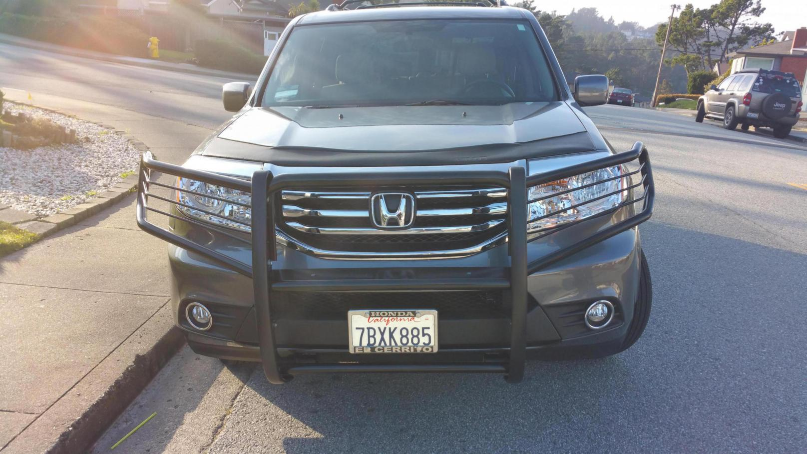 Bull Bar Grille Guard Push Bar Page 2 Honda Pilot