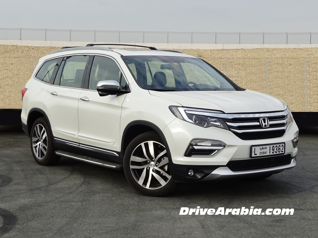 Click Image For Larger Version Name  Honda Pilot In The