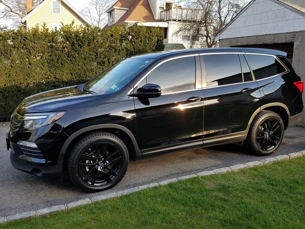 Blacked Out my 2016 - No Chrome left! - Page 9 - Honda ...