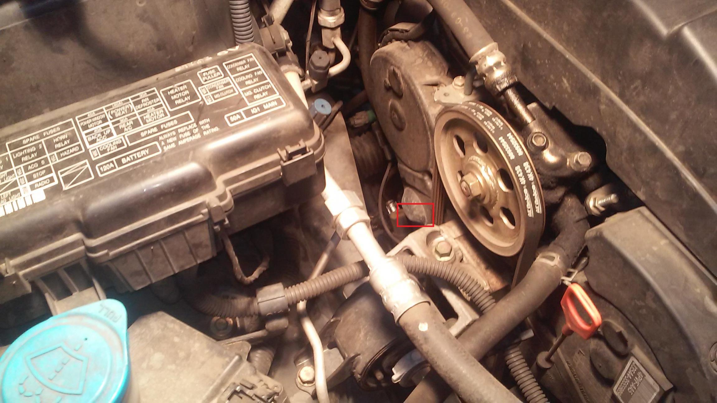Help Identify this Oil Leak 2004 Pilot  Honda Pilot  Honda