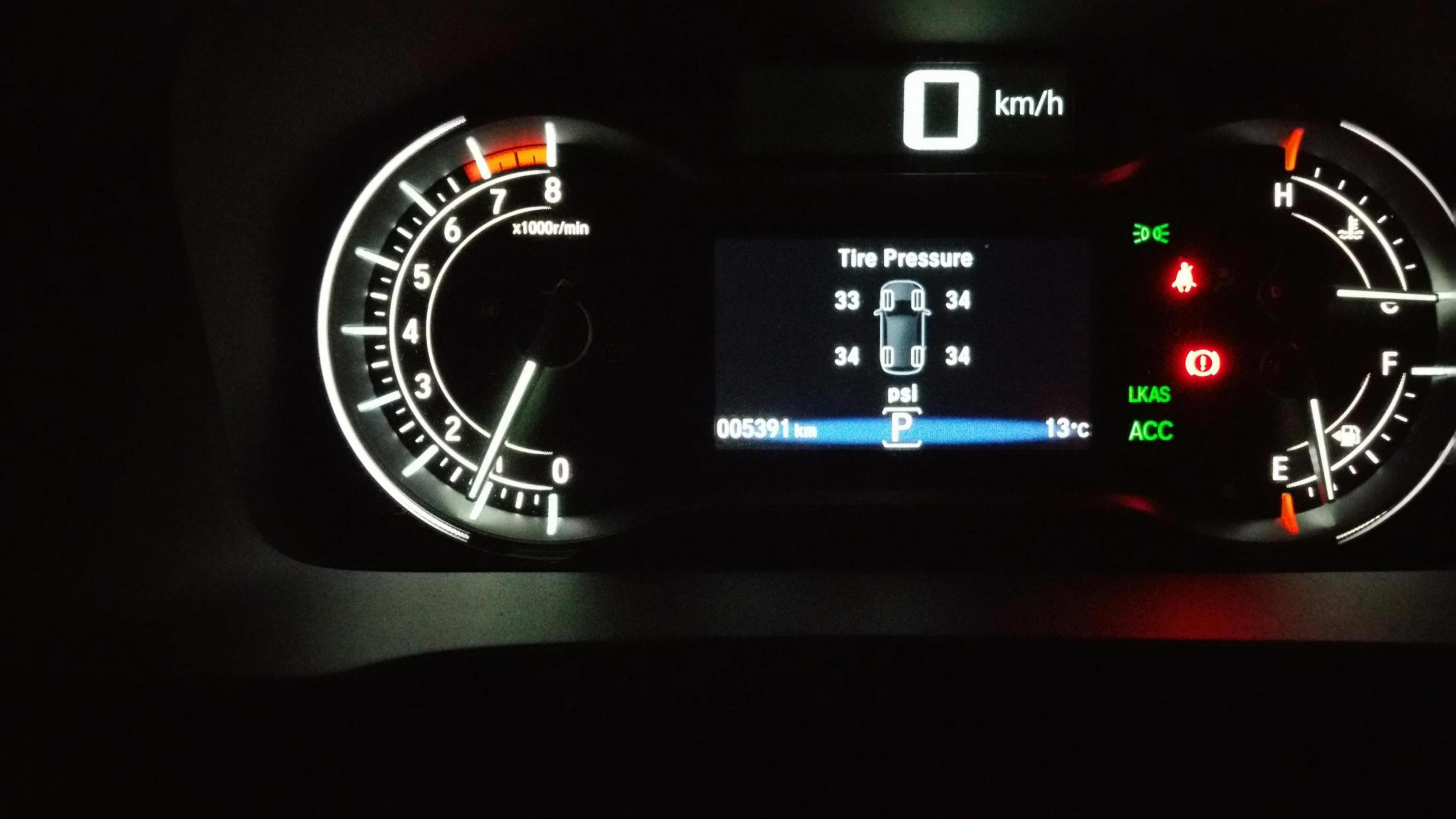 Honda pilot tpms warning light for What does tpms mean on a honda accord