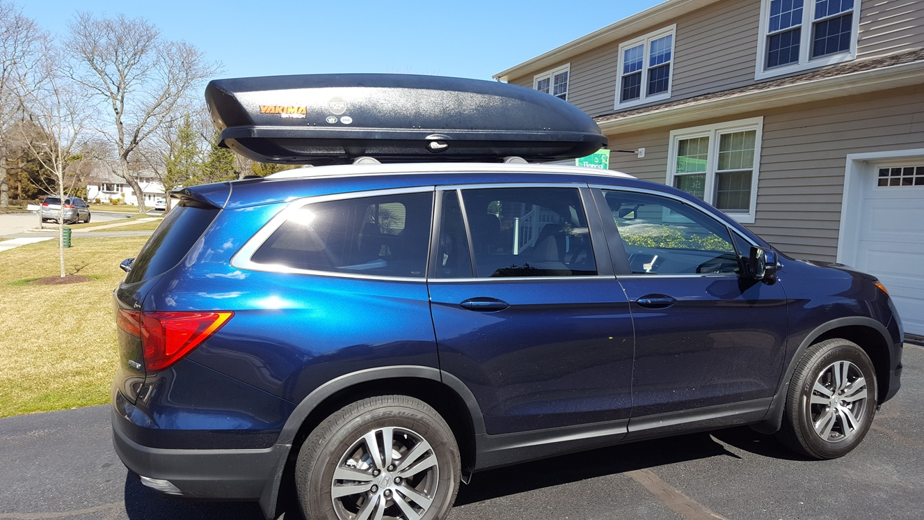 Is My Cargo Carrier Too Big Honda Pilot Honda Pilot Forums
