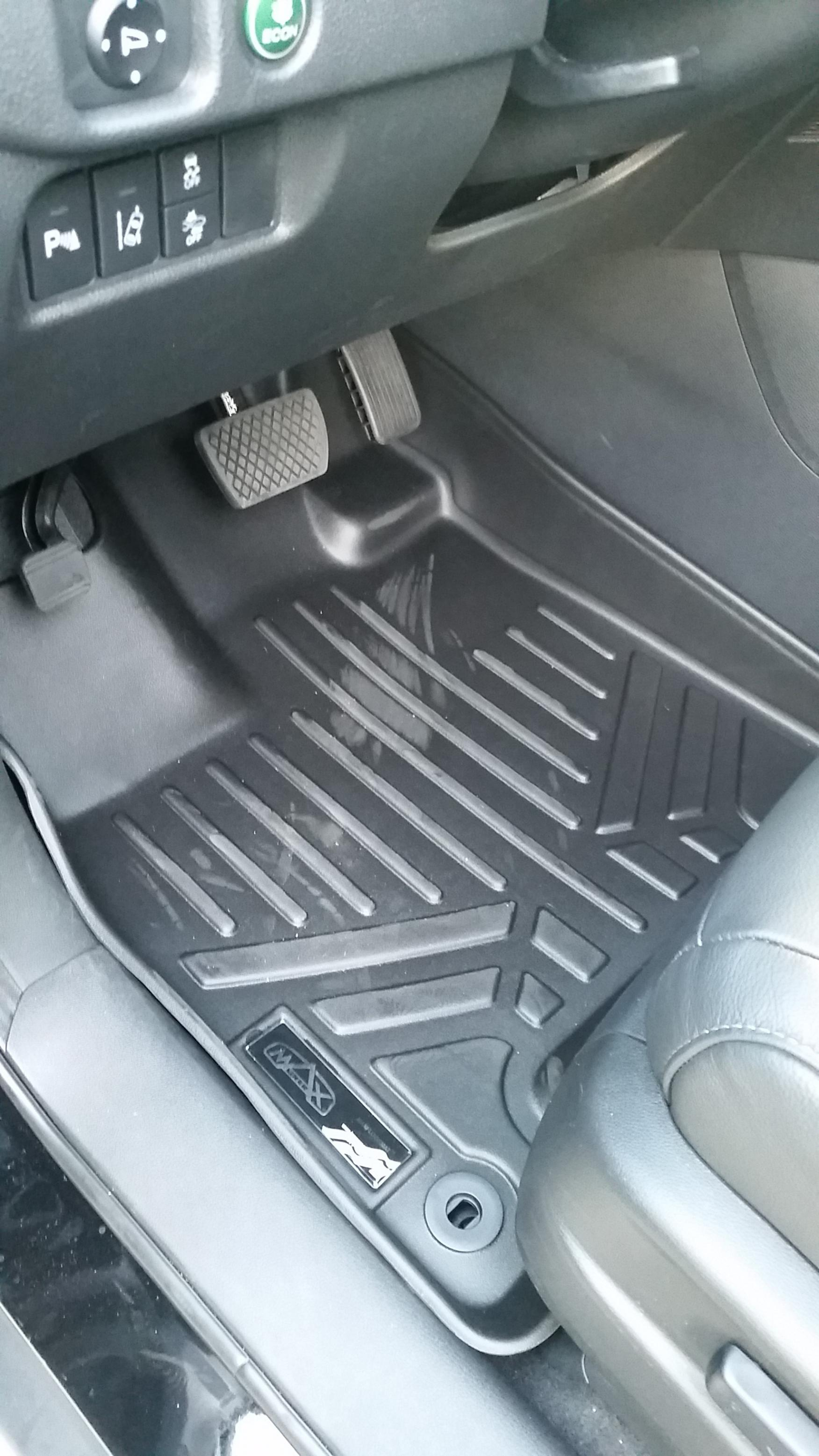 maxliner maxfloormat floor liners for 3rd gen pilot review (pics