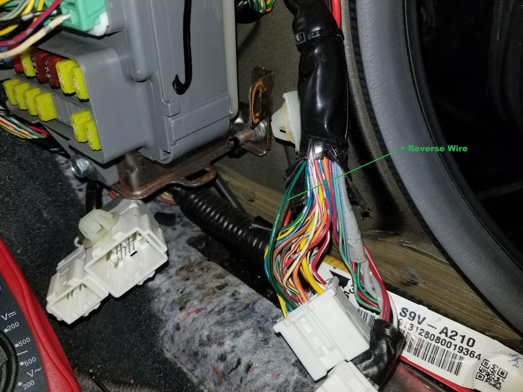 06-08 Honda Pilot Reverse Wire | Honda Pilot - Honda Pilot ForumsHonda Pilot