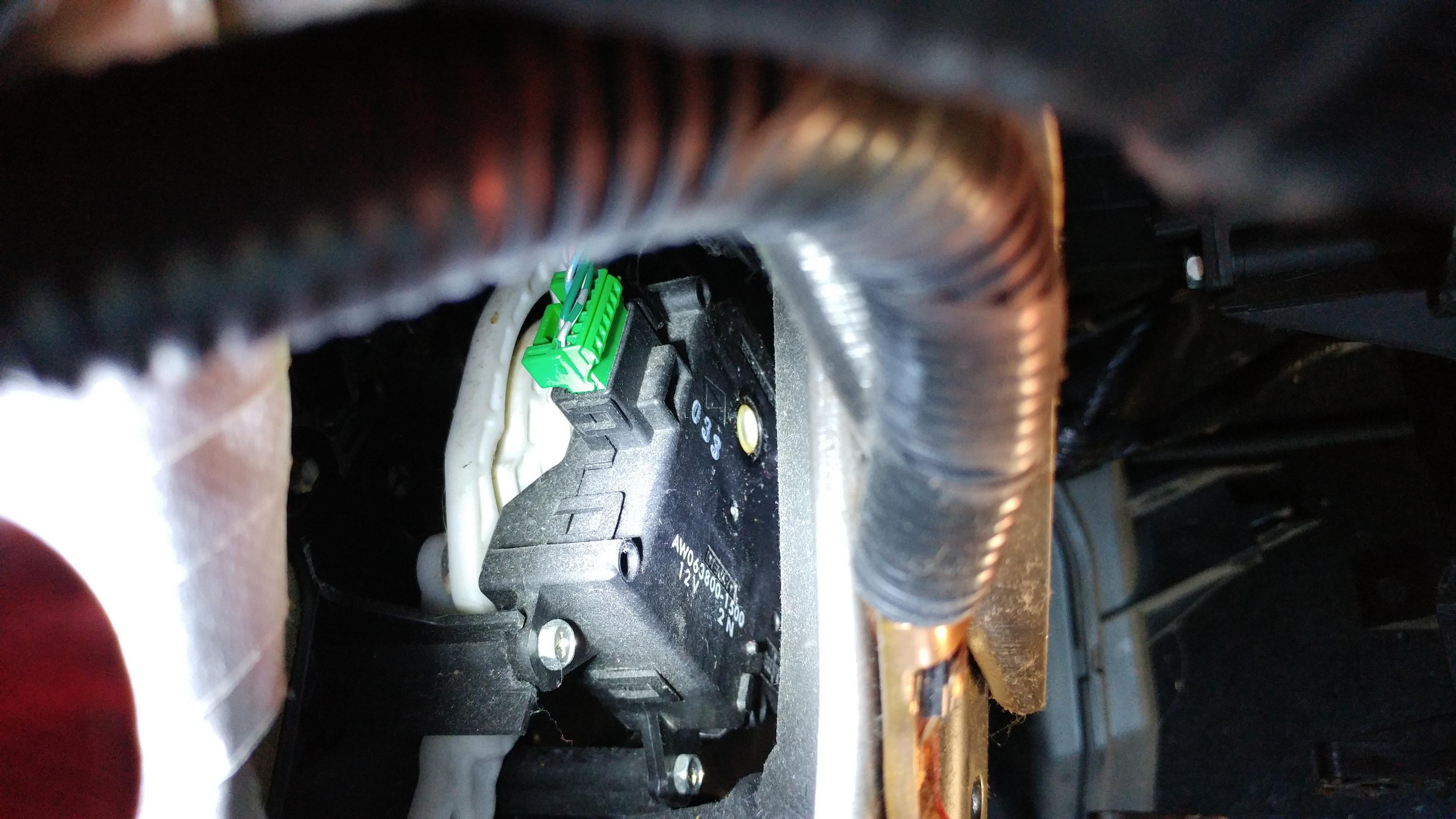 2011 Ac Mode Selector Actuator Stuck In Defrost Solved Honda Pilot Honda Pilot Forums