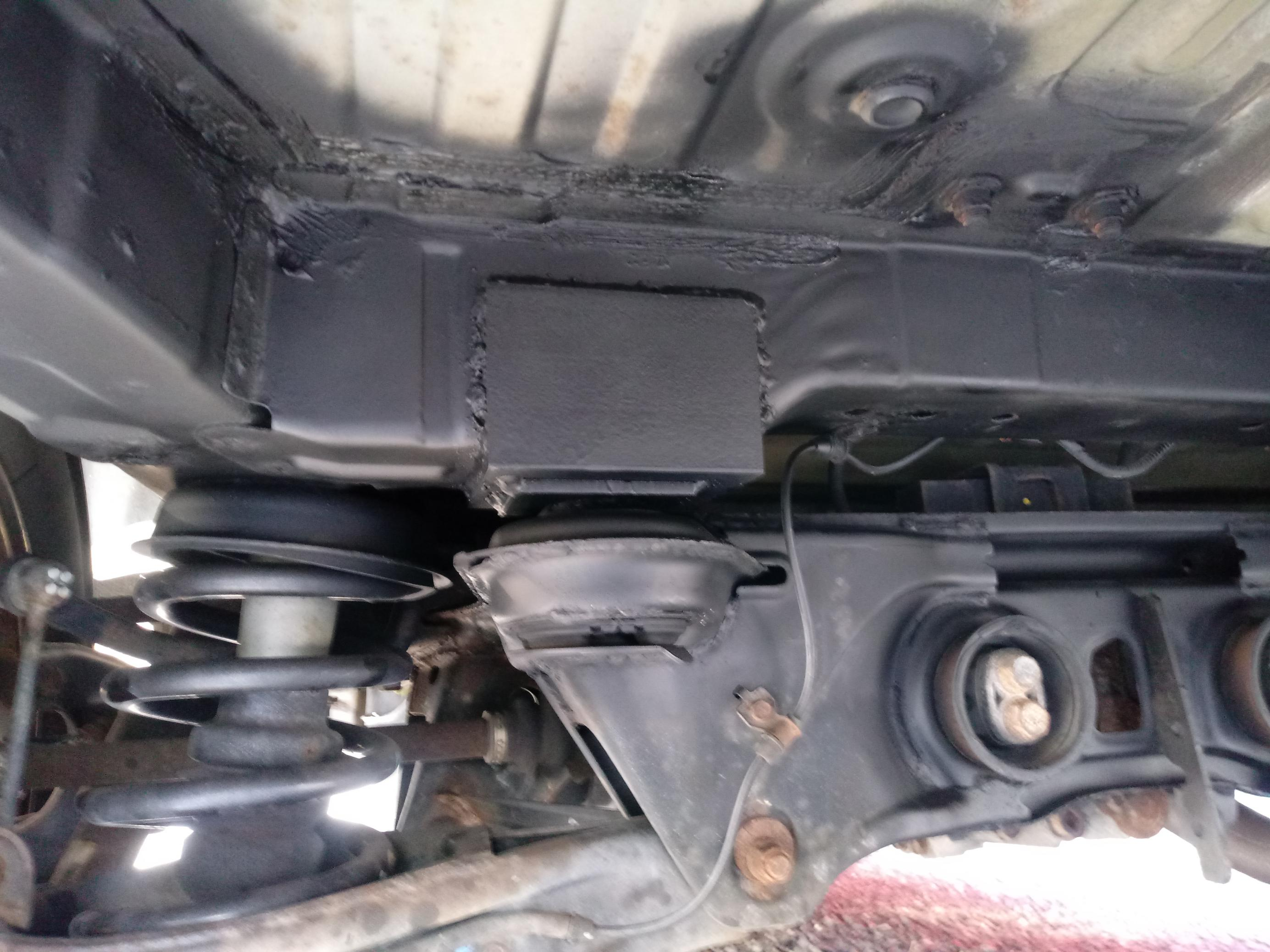 Fixed Rusted Rear Subframe Mount With Pics Honda Pilot