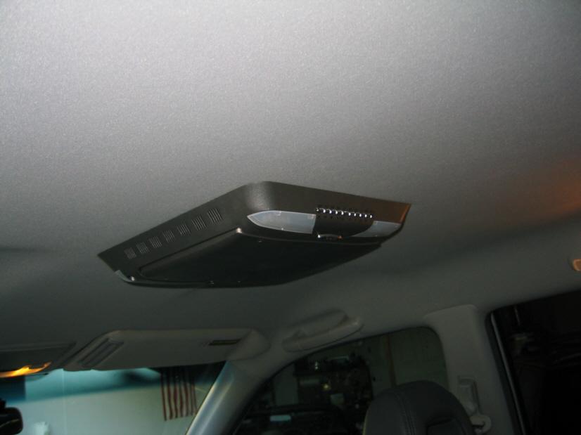 pix)Soundstream VCM-12D overhead DVD player and screen - Honda ...