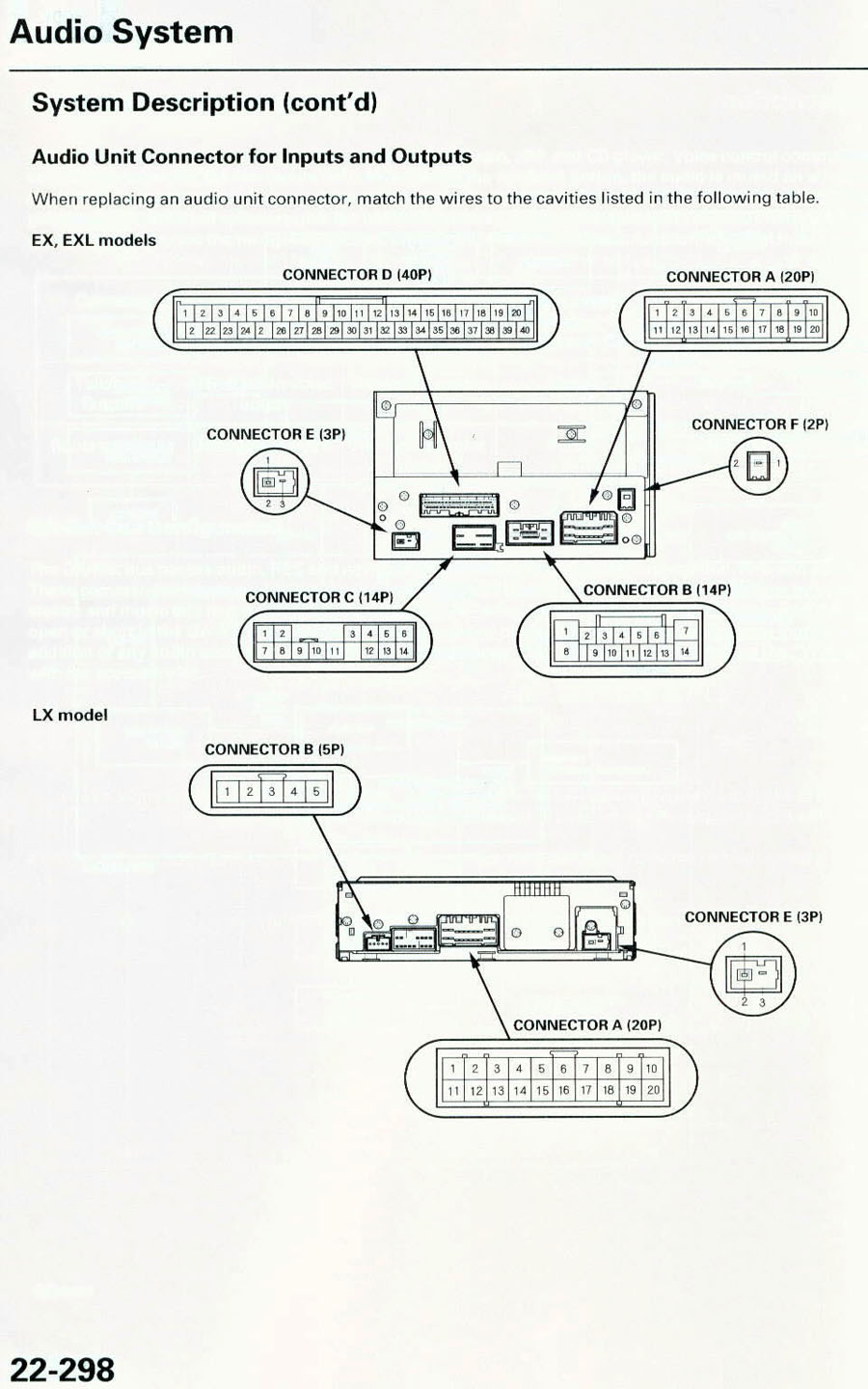 32969d1200063279 re factory subwoofer aftermarket hu audio_connector 2006 2006 honda pilot stereo wiring diagram 2006 wiring diagrams 2013 Honda CR-Z Interior at bakdesigns.co