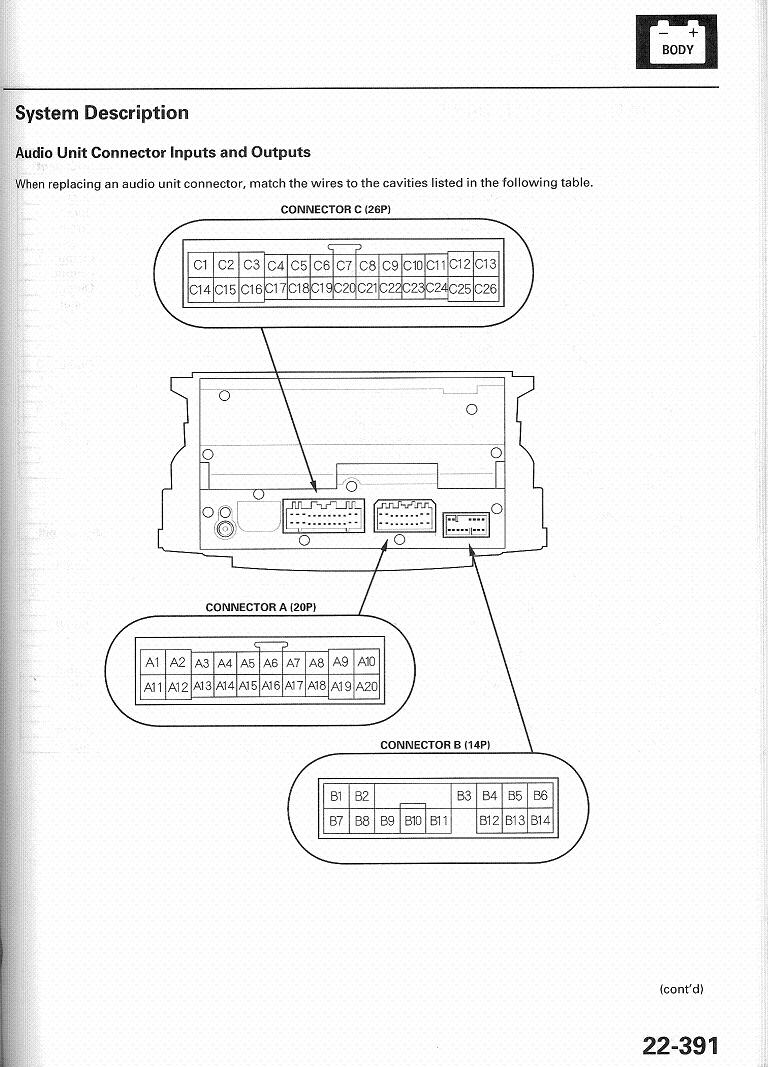 acura tl speaker wiring diagram acura wiring diagrams