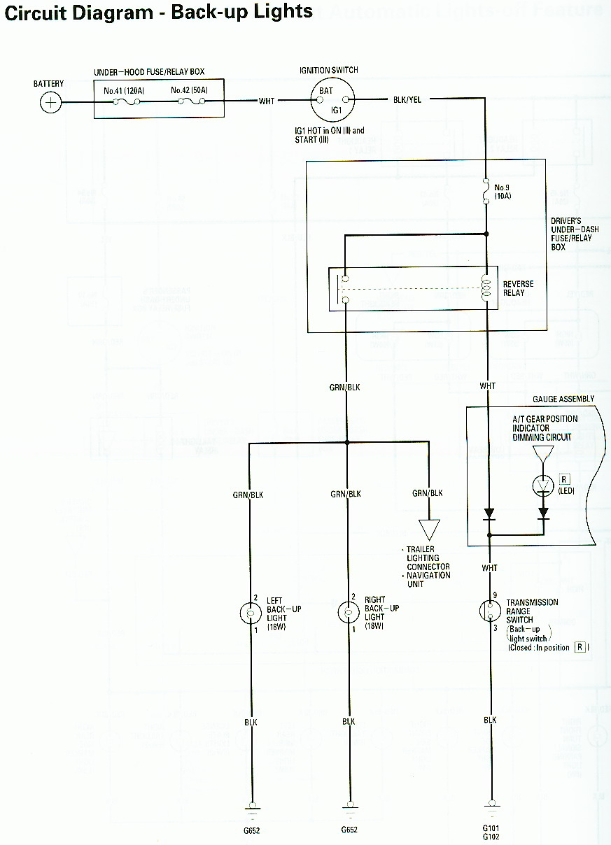 01 Silverado Reverse Light Wiring Diagram Starting Know About 2001 Tundra Trailer Plug Wire 03 Pilot Honda Forums Rh Piloteers Org