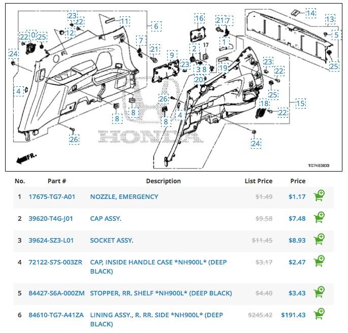 subwoofer honda pilot honda pilot forums. Black Bedroom Furniture Sets. Home Design Ideas