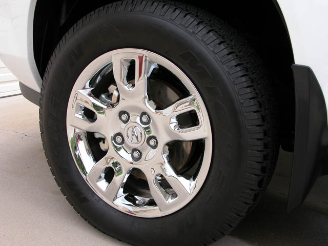 Acura MDX With Goodyear Integrity Tires Honda Pilot Honda - Acura mdx tires