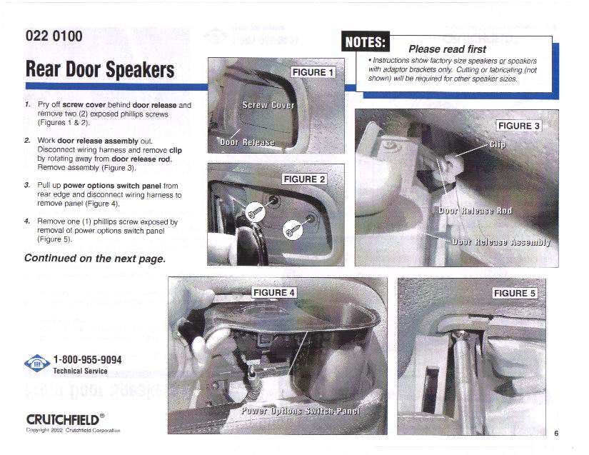 the definitive car stereo installation guide for the honda pilot rh piloteers org crutchfield amp install guide Installation Manual