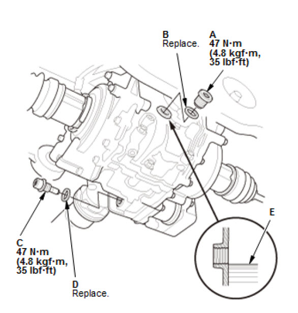 Honda B16 Engine Diagram