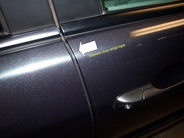 ... door tape 005.jpg ... & Door edge guards? - Honda Pilot - Honda Pilot Forums