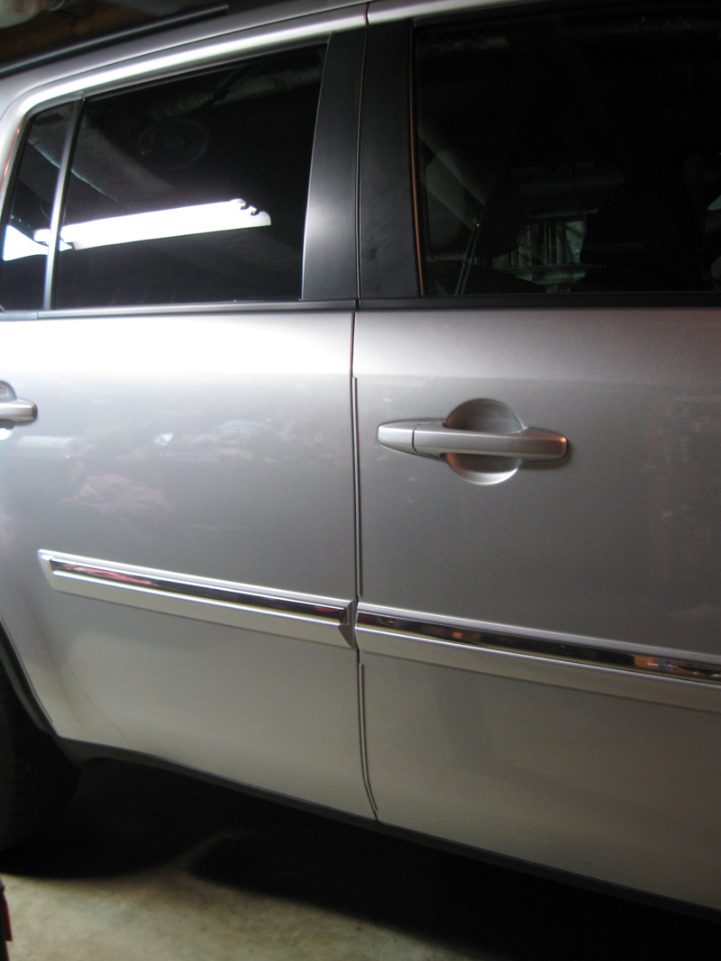 Click image for larger version Name Front-Door-guards.jpg Views ... & 2013 PIlot Touring Door Edge Guard Installation - Honda Pilot ...