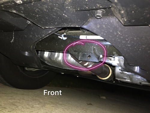 2017 Pilot Front And Rear Jack Point Honda Pilot Honda