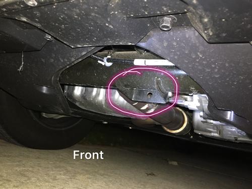 2017 Pilot Front And Rear Jack Point Honda Pilot Honda