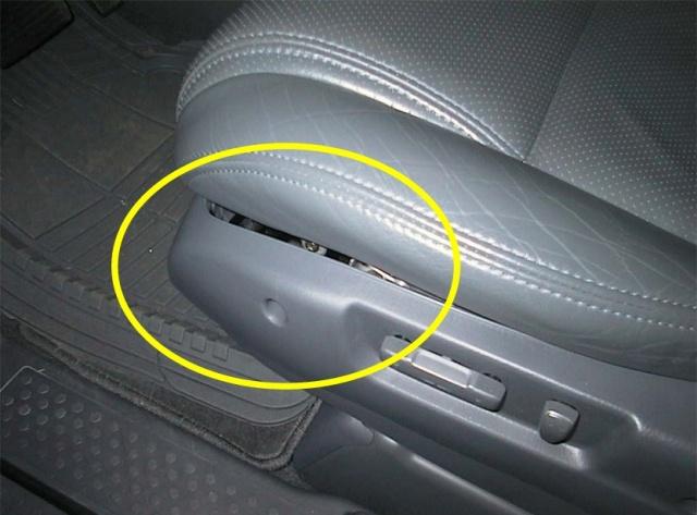 Plastic panel under driver s seat honda pilot honda pilot forums
