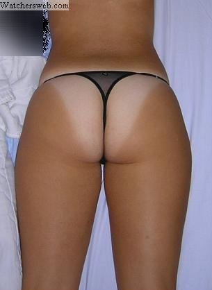Big tanned ass