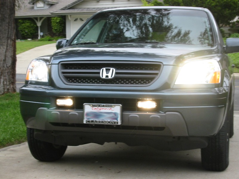 Installing aftermarket fog lights - Honda Pilot - Honda Pilot Forums