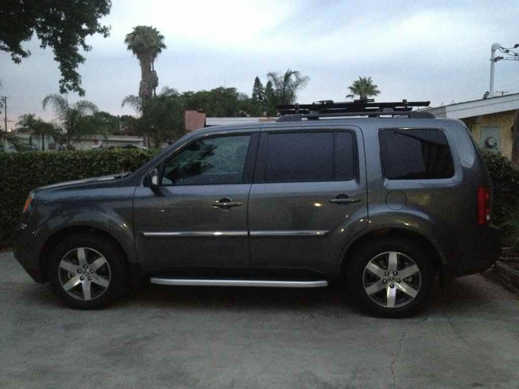 Chrome Roof Rack For Honda Pilot Cosmecol