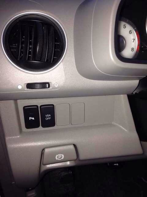 What Are The Extra Button Spaces For On Dash Left Of Steering Wheel