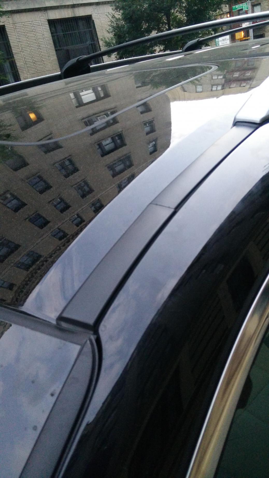 Honda Odyssey Thule Rapid Crossroad Black Aeroblade Base Roof Rack