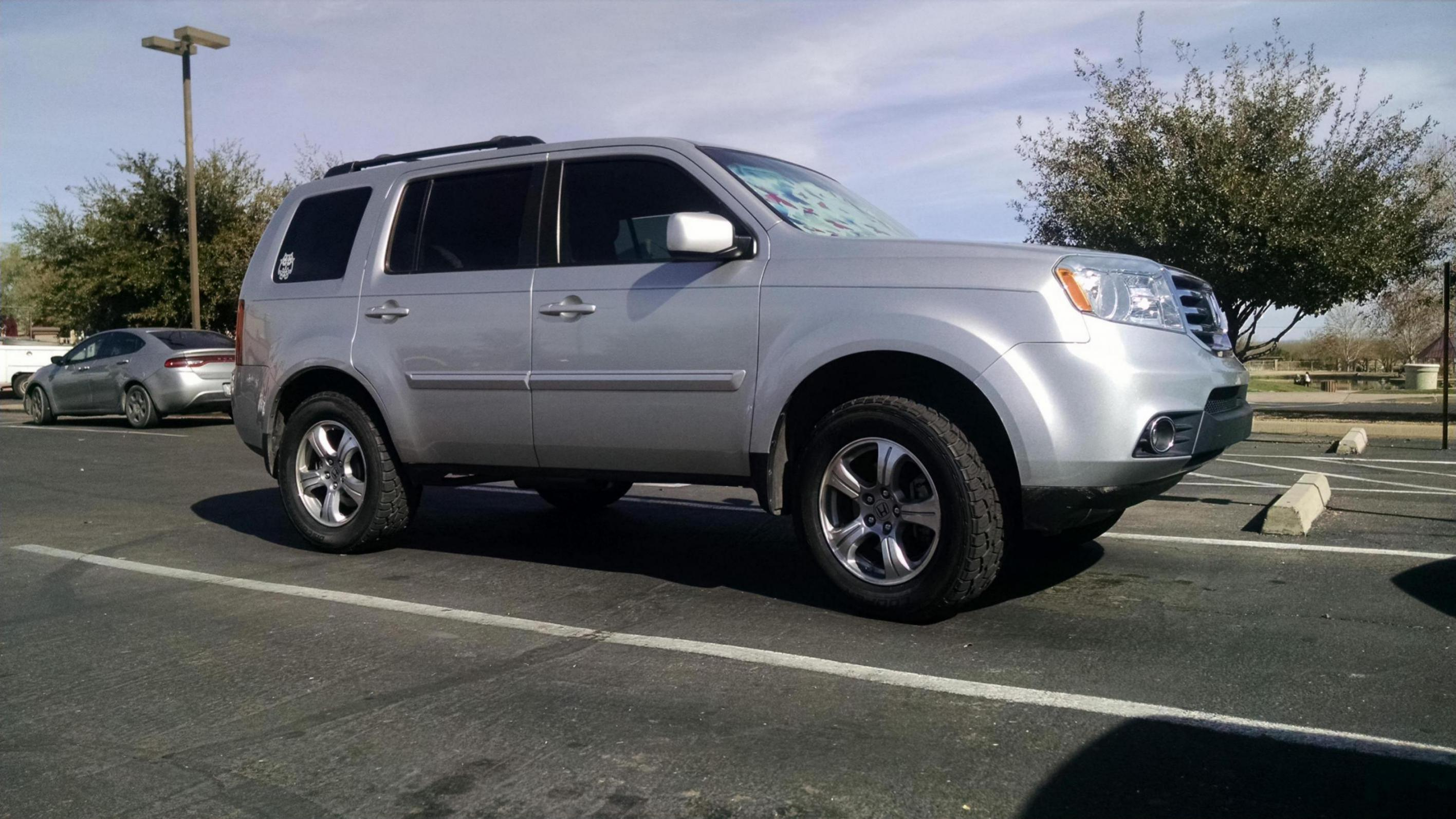 2013 Pilot 4wd Lift kit - Page 2 - Honda Pilot - Honda Pilot Forums