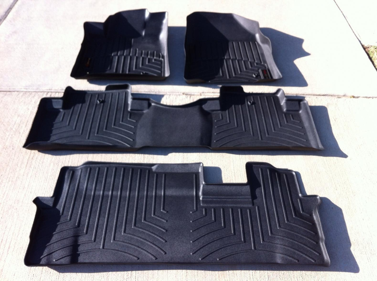 FS - 2009-2013 Honda Pilot Weather Tech Mats / Cargo Mat/ Cargo Cover-img_2187.jpg