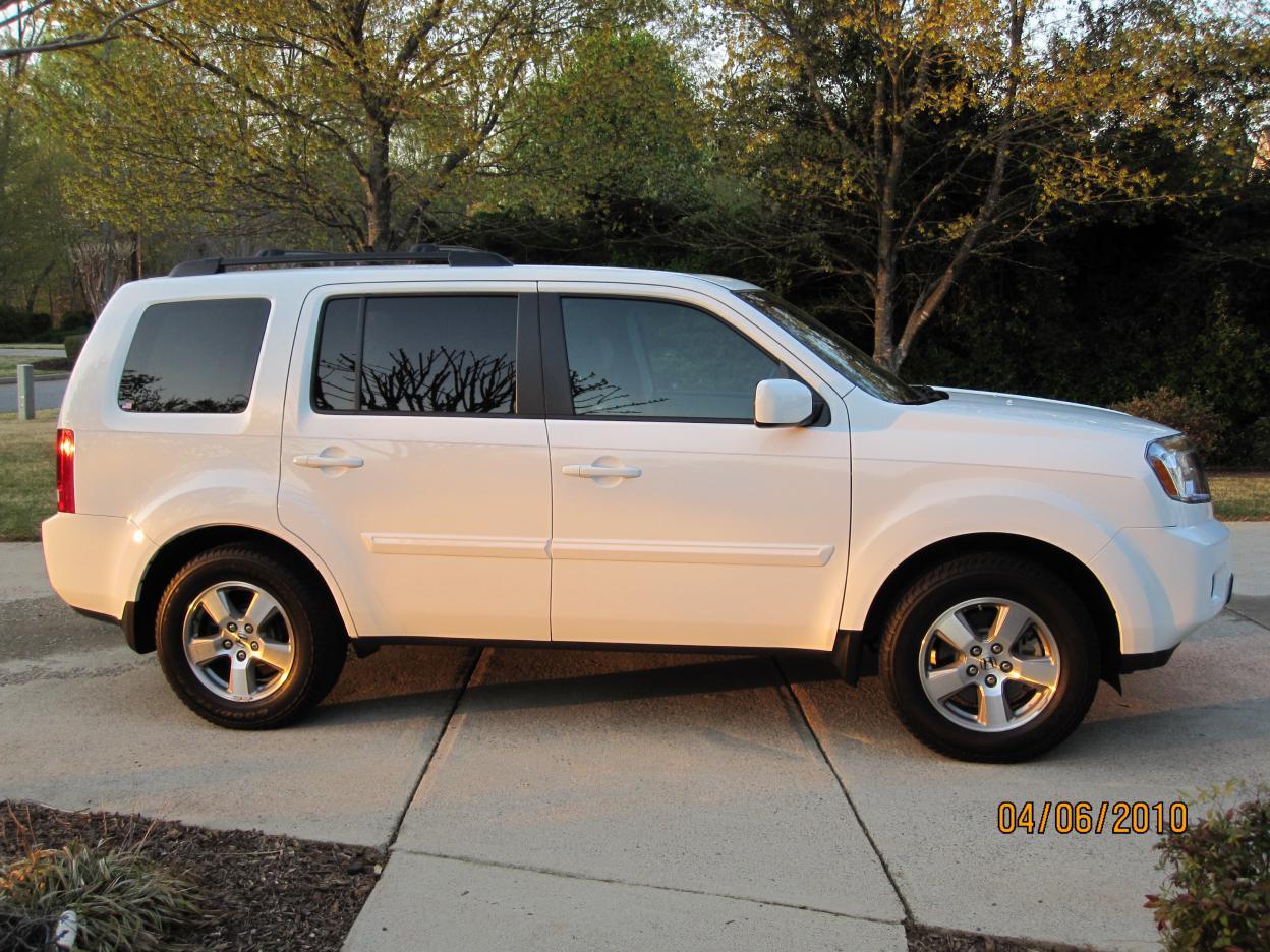 Taffeta White - 2010 Honda Pilot Touring - Gray Interior ...   2010 Honda Pilot White
