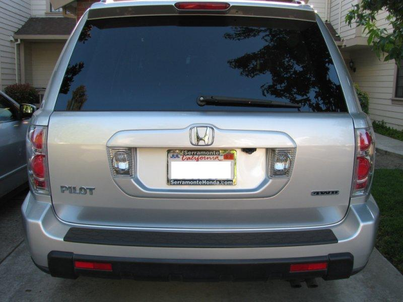 DIY backup camera installed on 06 Pilot EX - Honda Pilot ...