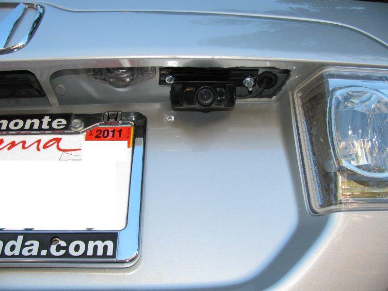 DIY backup camera installed on 06 Pilot EX - Honda Pilot - Honda ...