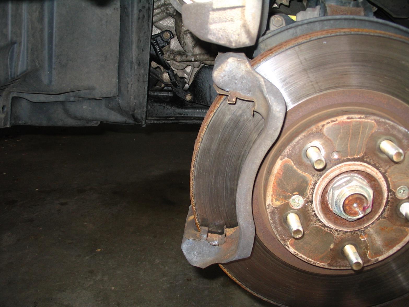 2003 Pilot 111k Front Brake Pad Replacement   Honda Pilot   Honda Pilot  Forums
