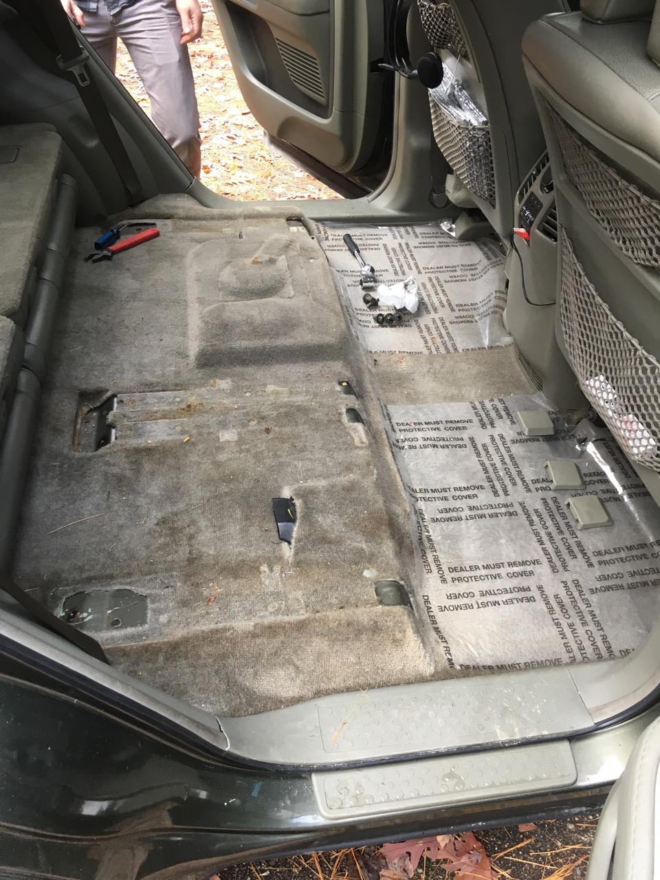 Removing second row seats? - Page 2 - Honda Pilot - Honda Pilot Forums