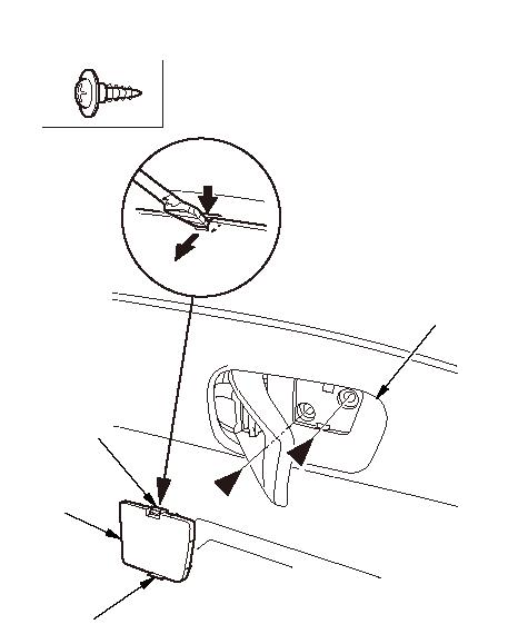 Drivers Door Armrest Replacement