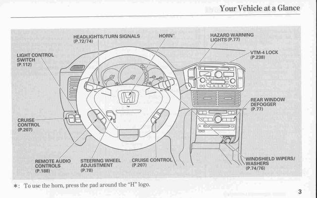 2003 honda pilot owner's manual - honda pilot - honda pilot forums