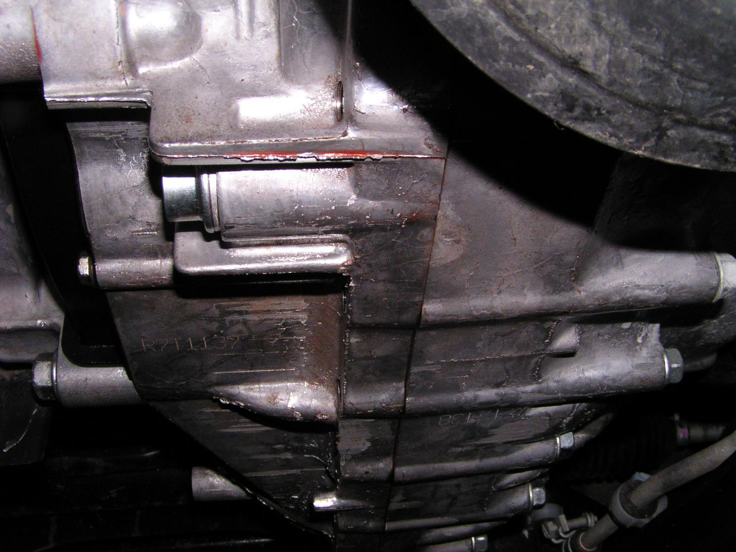 transmission leak repair