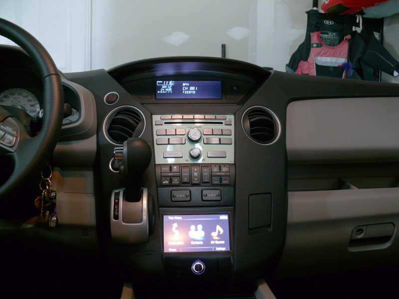 2011 Pilot Double Din Audio Dash Kit Honda Pilot